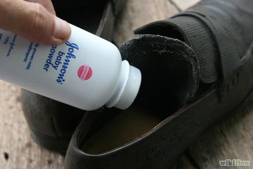 Kết quả hình ảnh cho khử mùi hôi chân khi đi giầy