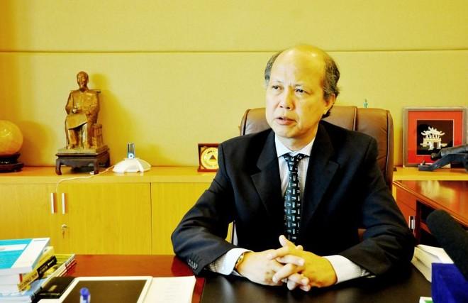 Ông Nguyễn Trần Nam, Chủ tịch Hiệp hội BĐS Việt Nam.