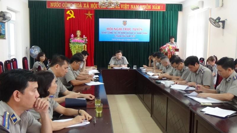 Tuyên Quang sơ kết công tác Thi hành án dân sự 6 tháng đầu năm