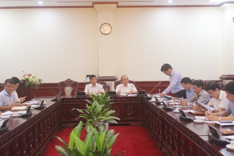 Đảm bảo tiến độ xây dựng báo cáo tổng kết Nghị quyết 49-NQ/TW