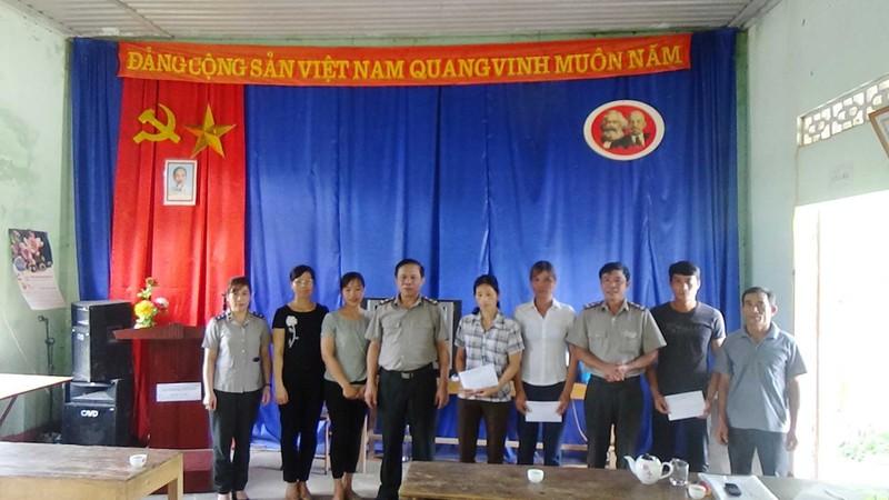 Cục THADS Tuyên Quang chung sức góp phần xây dựng nông thôn mới