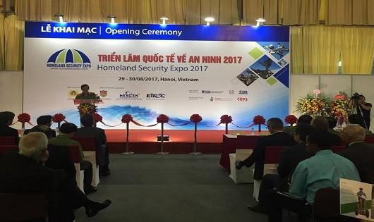 Khai mạc Triển lãm quốc tế về an ninh 2017