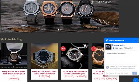 Titamex Watch kinh doanh hàng loạt đồng hồ giả, nhái các thương hiệu nổi tiếng?