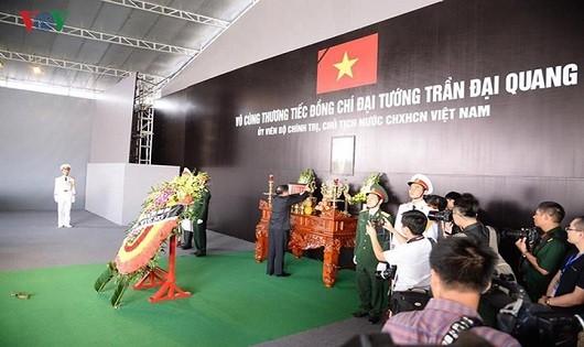 Ninh Bình: Người dân xúc động tới lễ viếng Chủ tịch nước Trần Đại Quang