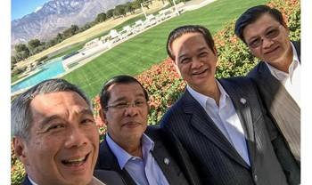 Dân mạng sôi sục ảnh Thủ tướng 'selfie'