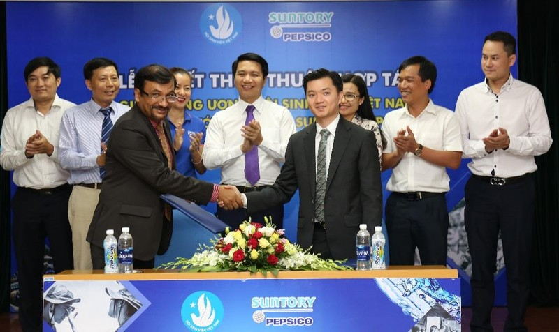 Suntory PepsiCo Việt Nam cam kết đồng hành hỗ trợ lâu dài cùng SVVN