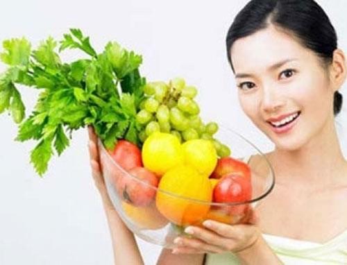 rau quả giàu vitamin E, vitamin C