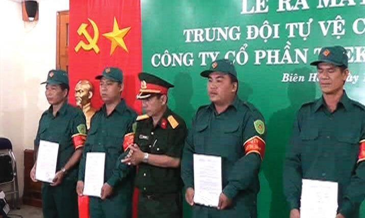 Ban CHQS Biên Hòa tham mưu tốt cho Lãnh đạo thành phố