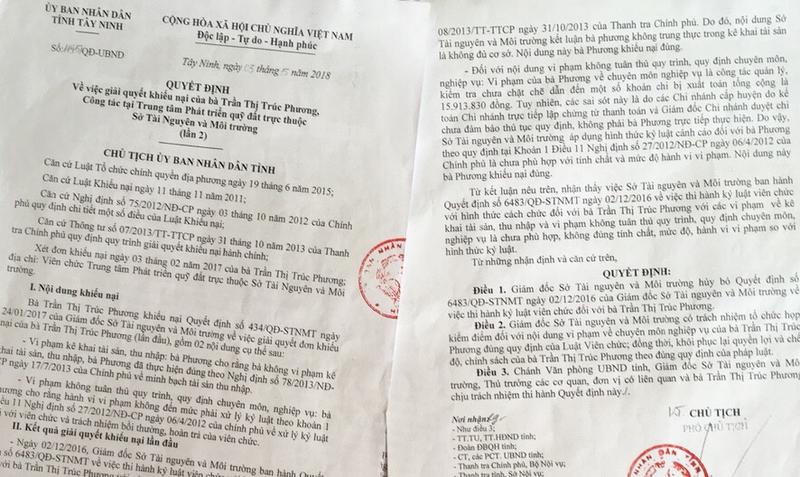 """Vụ """"Hành vi kì lạ của nguyên Giám đốc Sở TN&MT Tây Ninh: Oan đã giải, nhưng """"khuất"""" vẫn còn"""