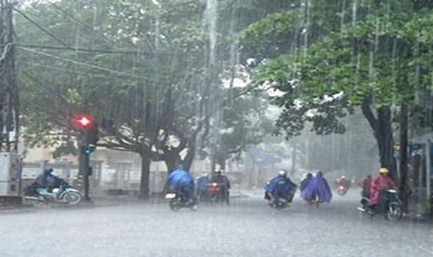 Bắc Bộ mưa lớn dự báo kéo dài đến ngày 1/8, lũ ở các sông lên nhanh