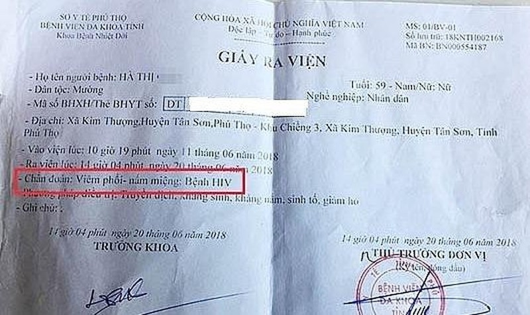 Bộ Y tế sẽ xác minh nghi vấn nhiều người ở Phú Thọ mắc HIV do bác sĩ dùng chung kim tiêm
