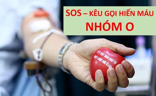 Cạn kiệt nhóm máu O, ngành Y kêu gọi người dân hiến máu
