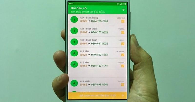 Hôm nay, 60 triệu SIM 11 số sẽ đổi sang 10 số