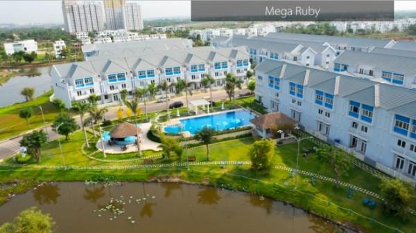 AseanWindow tham gia thi công dự án khu biệt thự cao cấp Mega Ruby Khang Điền
