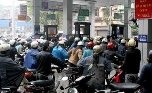Giá xăng đã giảm sau 3 lần tăng liên tiếp