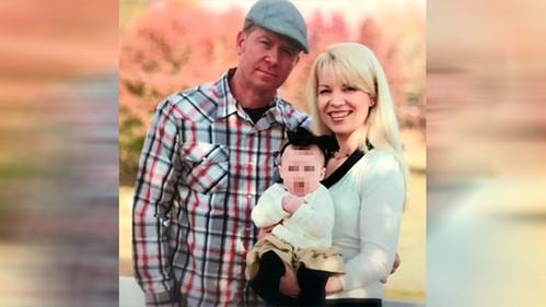 Gia đình của Keith King trước khi hai người ly hôn.