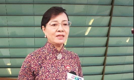 ĐBQH Nguyễn Thị Quyết Tâm nói về dự án Thủ Thiêm và vụ cử tri ném dép