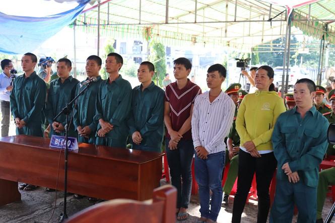 Xét xử sơ thẩm vụ án 'gây rối, đốt phá' ở Phan Rí, Bình Thuận