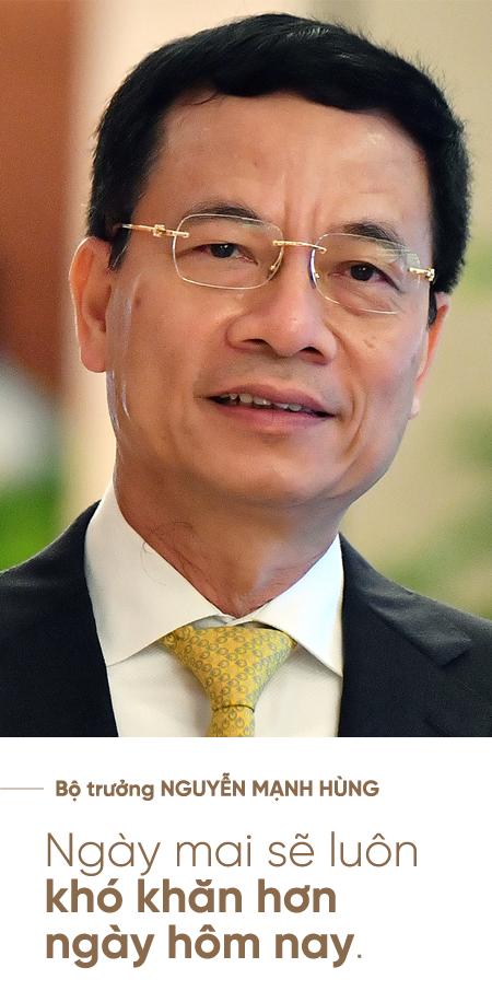 """Bộ trưởng Nguyễn Mạnh Hùng: Người lính trui rèn cả cuộc đời để lĩnh xướng """"cuộc chiến"""" Công nghiệp 4.0 - Ảnh 3."""