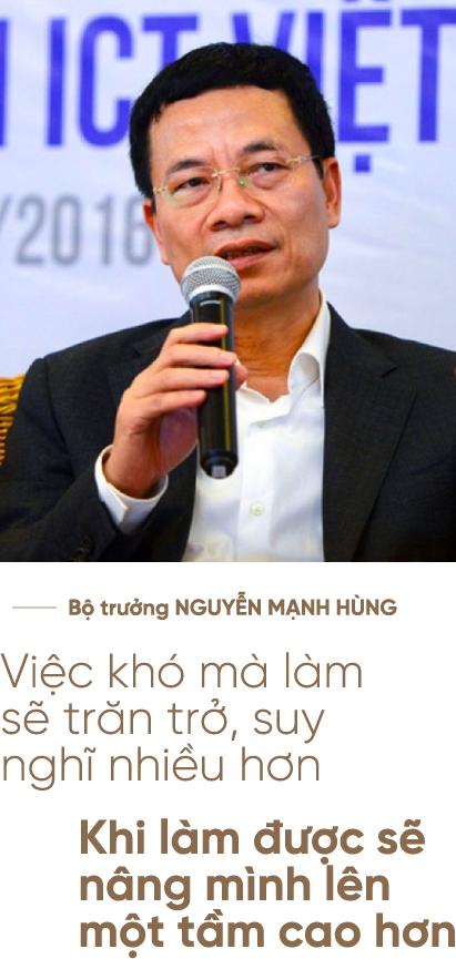 """Bộ trưởng Nguyễn Mạnh Hùng: Người lính trui rèn cả cuộc đời để lĩnh xướng """"cuộc chiến"""" Công nghiệp 4.0 - Ảnh 8."""