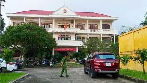 Quảng Nam: Phó chánh thanh tra tử vong trong khuôn viên cơ quan