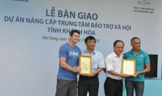Khánh Hòa: Tập đoàn ALMA chung sức vì cộng đồng