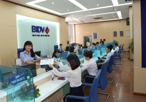 Vay lãi suất hấp dẫn từ BIDV