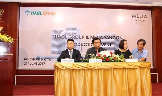 Hoàng Anh Gia Lai ra mắt Khách sạn Meliá Yangon
