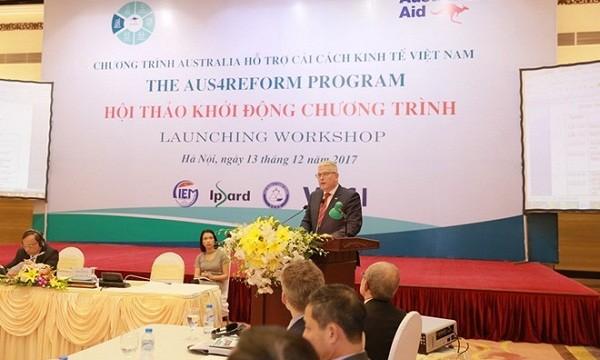 Australia cam kết tiếp tục hỗ trợ cải cách kinh tế của Việt Nam