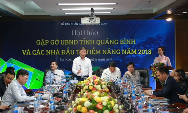 UBND tỉnh Quảng Bình gặp gỡ các nhà đầu tư tiềm năng