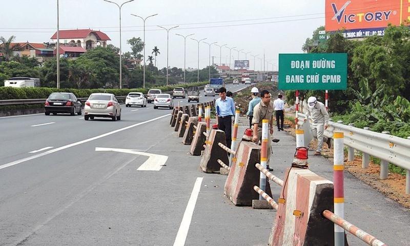 Sắp xong mặt bằng dự án cao tốc cửa ngõ Thủ đô