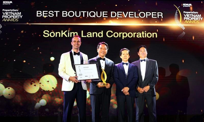 SonKim Land được trao giải thưởng bất động sản Việt Nam 2018