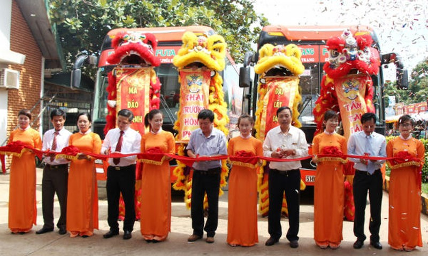 Phương Trang khai trương tuyến xe Buôn Mê Thuộc - Nha Trang giá vé 100.000 đồng