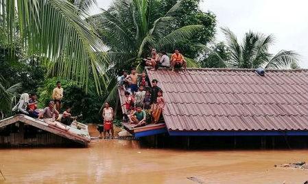 Hàng nghìn người Campuchia cũng phải sơ tán do vỡ đập thủy điện ở Lào