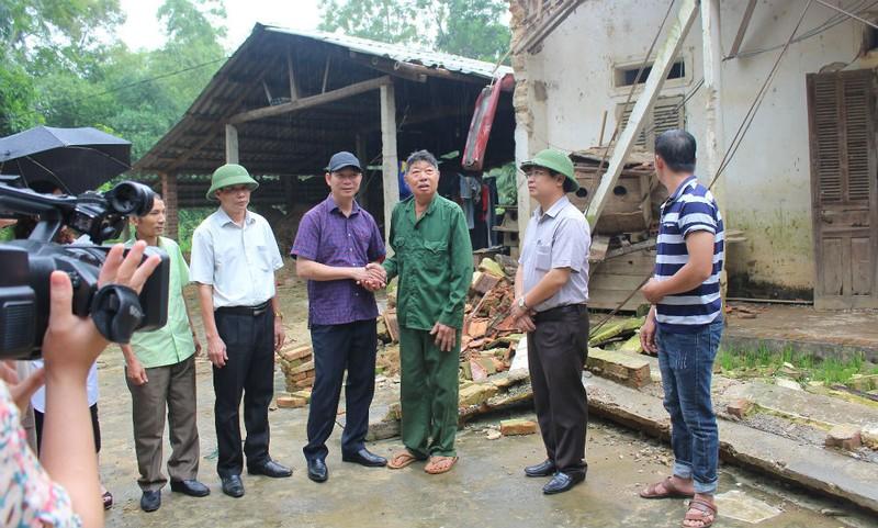 Ấm tình đồng hương nơi vùng lũ Phú Thọ