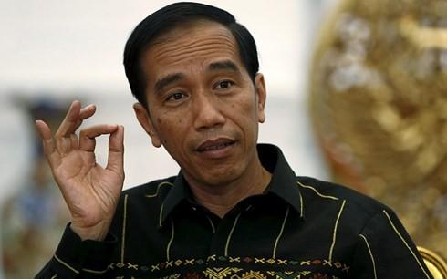 Tổng thống Indonesia Joko Widodo đăng ký tranh cử năm 2019