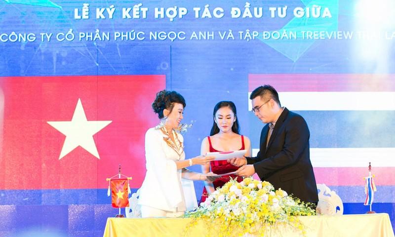 AKINO ký kết hợp tác cùng Tập đoàn TreeView (Thái Lan)