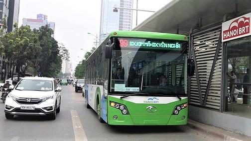 Hà Nội: Đi BRT, đường sắt trên cao… không cần xé vé