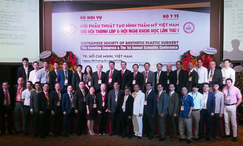 Hội Phẫu thuật Tạo hình Thẩm mỹ Việt Nam chính thức đi vào hoạt động