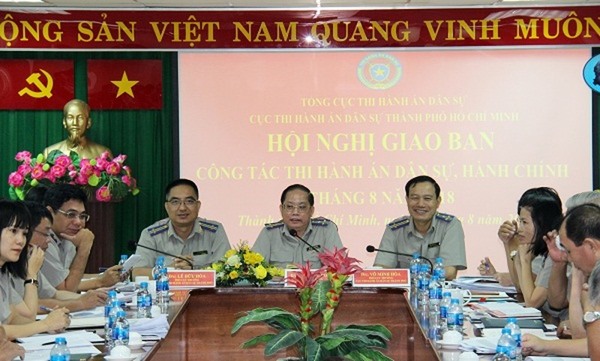 TP Hồ Chí Minh thi đua 'nước rút' trong công tác thi hành án dân sự