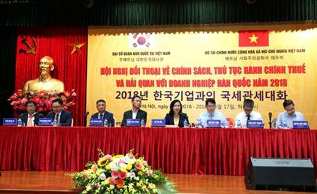 Doanh nghiệp Hàn Quốc: Tăng đầu tư, tăng nhu cầu cập nhật chính sách thuế, hải quan