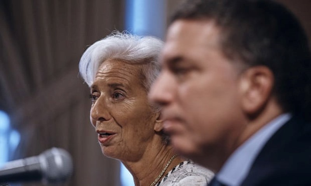IMF cho Argentina vay đến 57 tỷ USD