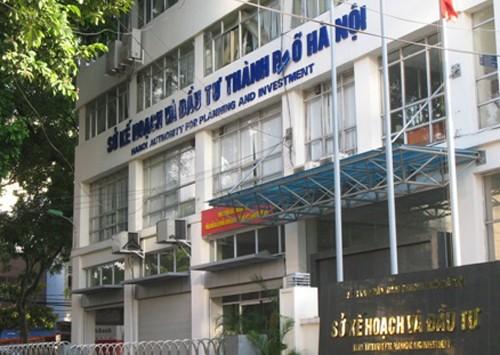 Sở Kế hoạch Đầu tư TP Hà Nội sẽ bị di dời khi thực hiện dự án. Ảnh: Võ Hải.