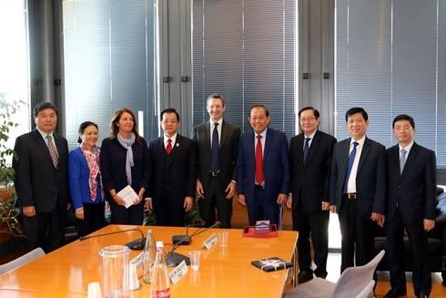 Italia sẵn sàng hợp tác bảo đảm hiệu quả hoạt động của hệ thống tư pháp với Việt Nam
