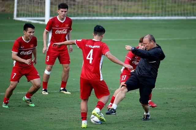 HLV Park Hang Seo hài lòng với chuyến tập huấn của đội tuyển Việt Nam tại Hàn Quốc
