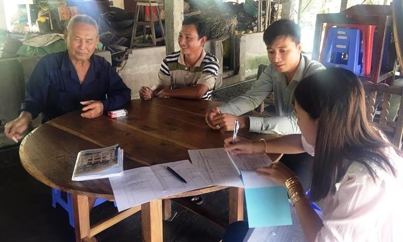 """Phát triển BHYT hộ gia đình tại Sóc Trăng: Hiệu quả từ hình thức """"thăm hộ gia đình"""""""
