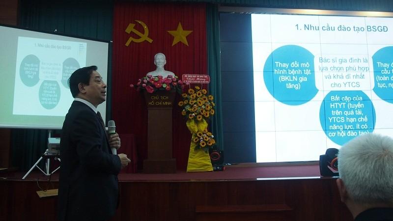 Tìm giải pháp phát triển Y học gia đình tại Việt Nam