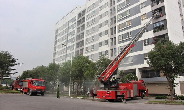 Hà Nội: Siết chặt quản lý công tác PCCC các khu chung cư, nhà cao tầng trên địa bàn