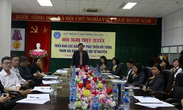 """Phát triển BHXH tự nguyện tại Lạng Sơn: """"Mỗi cán bộ, viên chức là một tuyên truyền viên"""""""