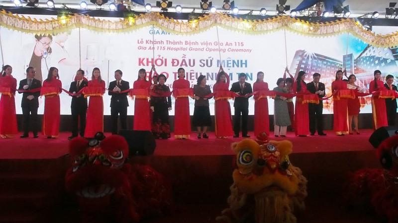 Thành phố Hồ Chí Minh khánh thành bệnh viện Gia An 115